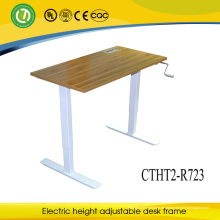 Cheap Executive Hand Crank Office Desk For Working And Studing