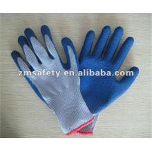 Gants de travail enduits de latex de sécurité / gant de jardin ZMR403