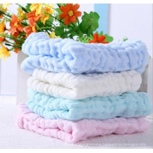 six layer cotton handkerchief new born baby face towels nursing towel