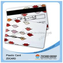 Cartão de visita Cartão de Frost Cartão de plástico Cartão de PVC