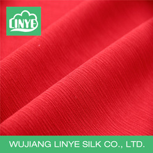 heavy 160D polyester crepe fabric for spring dress