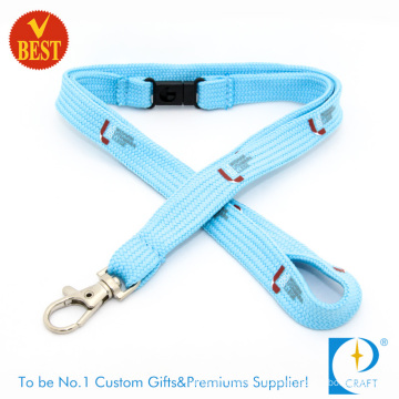 High Quality Customized Tubular Screen Printed Lanyard From China at Factory Price