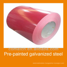 prepainted galvanized steel in coils, manufacturer in China