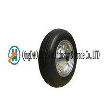 13 Inch Semi-Pneumatic Rubber Wheels for Wheelbarrows
