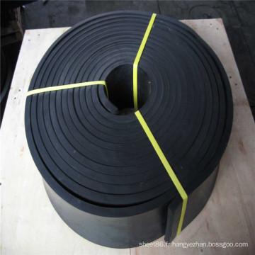 Feuille en caoutchouc de feuille de caoutchouc de SBR de bandes épaisses de 20mm