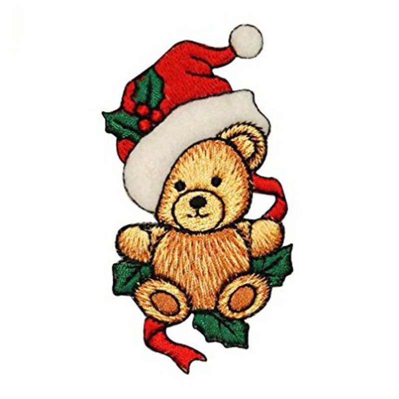 Teddy Bear Applique Patch