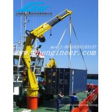 Telescopic Boom Hydraulic Crane Marine\ grua