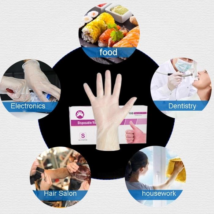 hand gloves vinyl