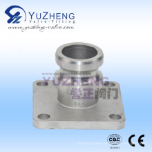 Stainless Steel Camlock Coupling with Flanged End