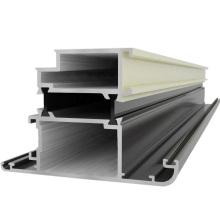 Revêtement en poudre Aluminium Fenêtres et portes Construction Aluminium Profil
