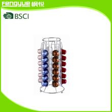Rack de armazenamento de cápsulas de café de 36 capacidades