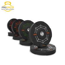 Placas de parachoques de caucho ProCircle Weightlifting
