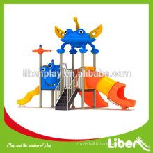 Etats-Unis Vacances cadeau aire de jeux extérieure Type et matériel de terrain en plastique Matériel enfants équipement de terrain de jeux en plein air