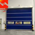 Rapid industrial PVC door
