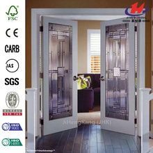 JHK-G01  Slide Tempered Colored Glass Door