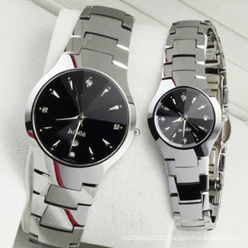 Hl54wholesale Cheap Price Hot Sale Fashion Stainless Steel Men′s and Women′s Wrist Quartz Watch
