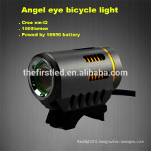 Angel eye CREE XM-L2 T6 LED Lamp1000 Lumen flashlight for bicycle