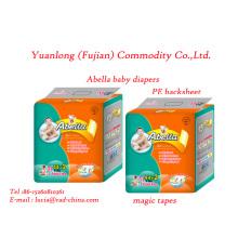 Alta qualidade e 100% fabricação de preço de fábrica fraldas fraldas bebê
