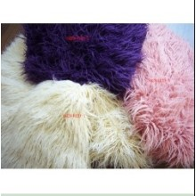 China New Product for Tops Knitting Fur Plain Imitation Tan Sheep Fur supply to Solomon Islands Factory