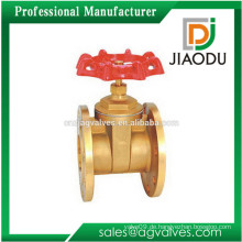 Porzellan Fabrik Preis rote Griffe manuelle Standard geschmiedet Hochdruck Doppel-Scheibe Schieber für heißes Öl, Wasser
