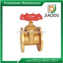 Precio de fábrica de China manijas rojas estándar manual forjado alta presión doble puerta de compuerta para el aceite caliente, agua
