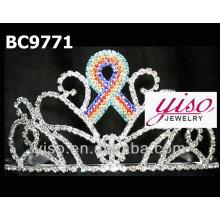 Coroas de moda tiara