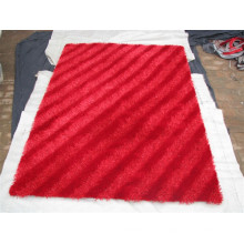 100% Polyester Shaggy Decorative Carpet Tiles