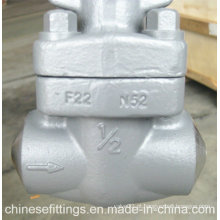 Alloy Steel Forged F22 Soldagem Buttweld válvula de porta