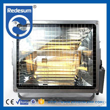 IP65 toughen glass outdoor 1000w metal halide flood light for tennis court square