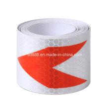 """2"""" X10′ cinta de 3 m reflectante seguridad ADVERTENCIA de la evidencia de la manera"""