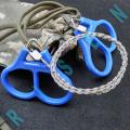 Scie à fil d'acier de survie en plein air Scie à chantourner Scie à chaîne Scie multi-corde et chaîne