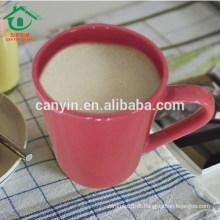 2015 moda grande copo de chá de cerâmica barato com logotipo