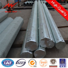 Steel Electric Transmission Tower Power Distribution Pole