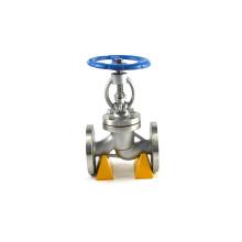 fabricante profissional de carregado jis 20k válvula de globo de água do mar padrão