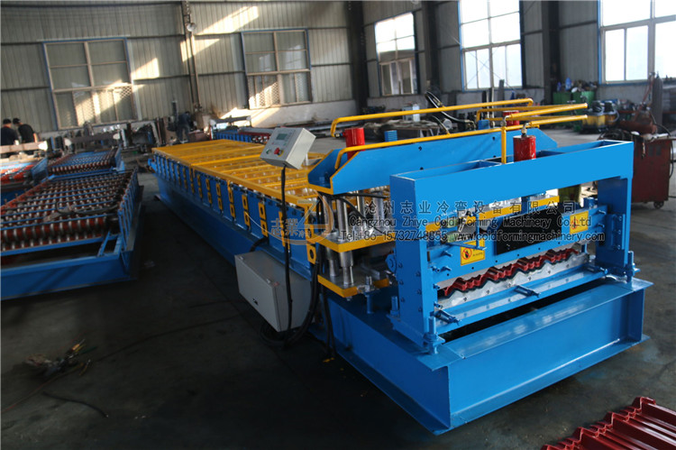 Glazed Tiles Profile Machines
