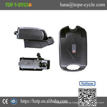 Rechargeable 36v e-bike lithium ion battery ebike battery pack
