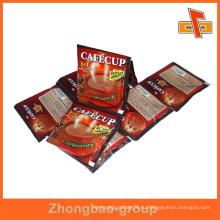 Подгонять пищевые асептические пластиковые термосварки печатные пакеты для растворимого кофе премикс