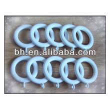 Белые декоративные пластиковые кольца