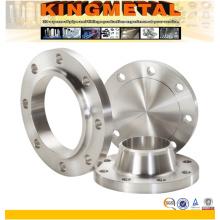 Bride d'acier inoxydable forgée par ASTM A182 F316L F51 F904L