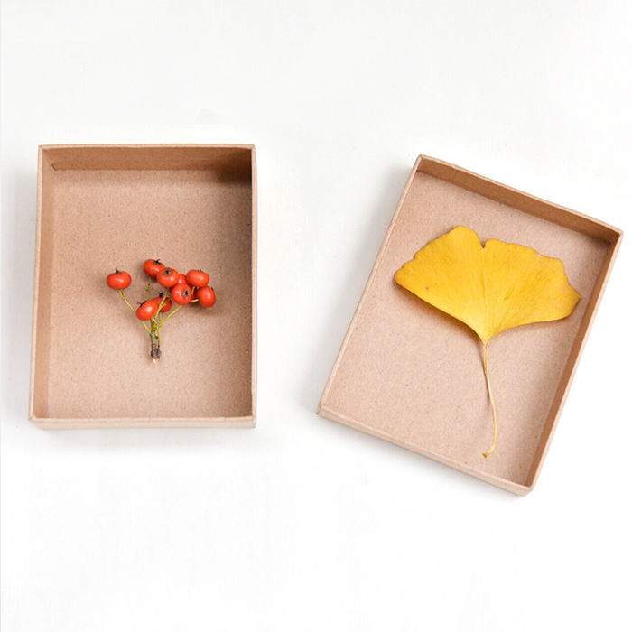 Kraft Paper Necklace Box
