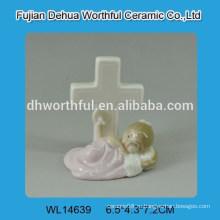 Творческий дизайн ребенка белая керамическая отделка