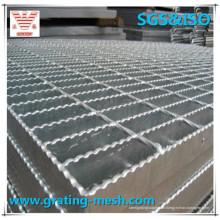 Gezahnte Stahlgitter/Stahlgittergitter