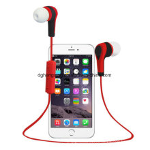 Спортивный беспроводной стереогарнитура Bluetooth с микрофоном для iPhone