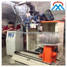 Brosse à vaisselle ronde de l'industrie faisant la machine