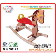 Big Wooden Rocking Horse Kids Ride On Toys