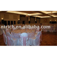 Satin chair cover,hotel/banquet chair cover, common style chair cover