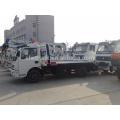 Camión de remolque de camino amarillo, camión de remolque