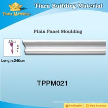 Moldes para paneles de pared multicolor PU Con estilo actualizado