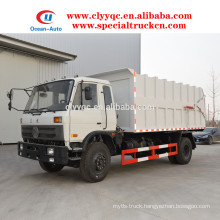 Dongfeng 190hp Butt garbage truck