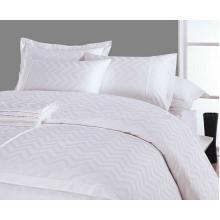 100% de algodón egipcio de lujo de 300 hilos cuentan 4 juegos de cama Pcs